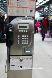 Telephone Gare de Lyon 05