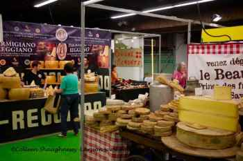 Salon Saveur Espace Champerret Paris, Beaufort regional cheeses