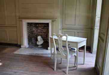 "Benjamin Franklin House London his front room for ""air bathing"""