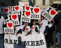 Fete Grand'meres - Grandmother's Day Paris-Bastille