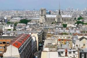 Pantheon view from the colonnades (April to October) Notre Dame de Paris