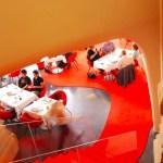 View from the mezzanine level of Opera Restaurant - Palais Garnier