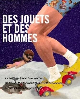 Poster Des Jouets et des hommes, RMN/Grand Palais Paris until January 23, 2012