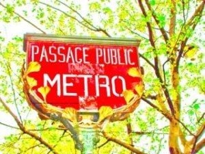 Metro Franklin Roosevelt Paris