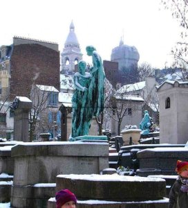 Saint Vincent Cemetery - Montmartre-Cimetière de Saint Vincent 6 rue Lucien Gaulard Paris 18th