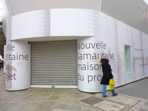 Preview with a movie the renovation of La Samaritaine Department Store