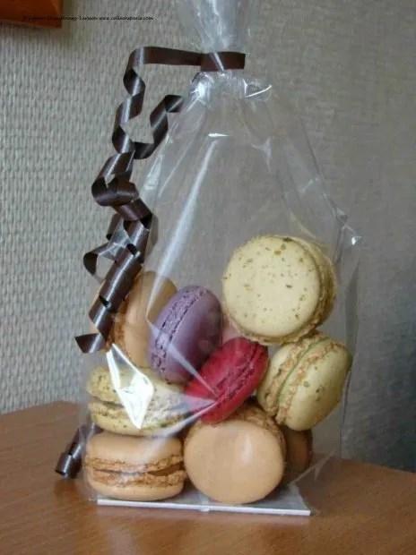 Macarons from Au Levain de Marais, Boulevard Beaumarchais