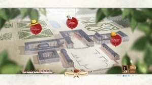 "Interactive game Shambles at Versailles ""Help Louis XIV to build his Palace"