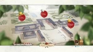 "Interactive game Shambles at Versailles ""Help Louis XIV to build his Palace"