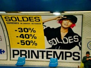 Soldes Paris Sales Printemps
