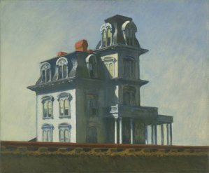 "Edward Hopper ""The House by the Railroad"" 1925"