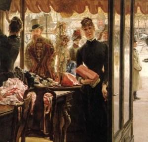 The Shop Girl 1883 – 1885, James Tissot