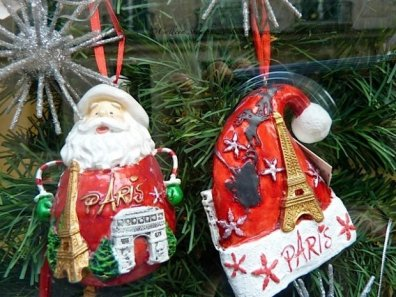 Paris Christmas ornaments-good souvenir