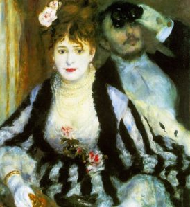 La loge (The Theater Box) Pierre-Auguste Renoir 1874