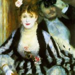 La loge (The Theater Box) Pierre-Auguste Renoir 1874