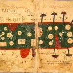Map of Indian Ocean, Egypt, 11th century