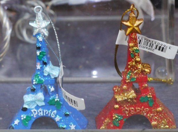 Eiffel Tower Decorations For Christmas