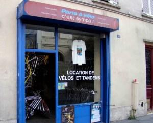 Image of storefront for Paris à velo c'est sympa!