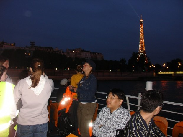 Quiet moment along the Seine....