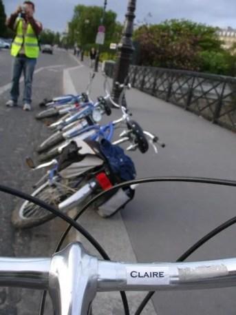 Each bike has a name