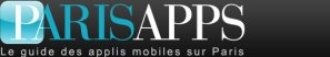 Logo linking ParisApps from the Mayor of Paris/City of Paris