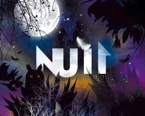 Poster of Nuit (Night) exhibition at the Grande Galerie de l'Évolution, MNHN