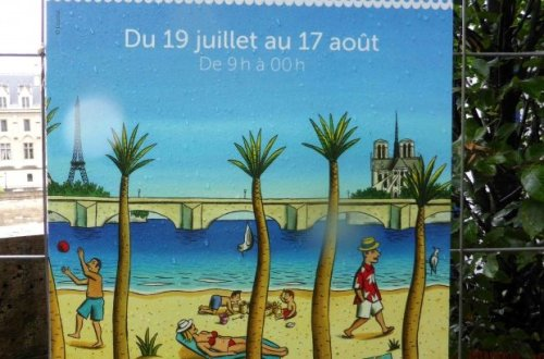 Poster of Paris Plages 2014
