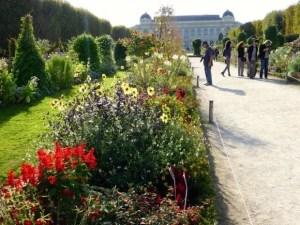 Jardin des Plantes Grande Galerie de l'Évolution in background