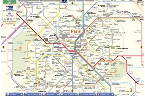 RATP Interactive Map example