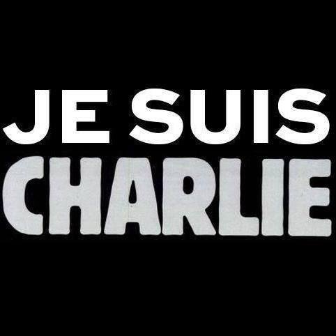 Je Suis Charlie - text that appeared immediately after cartoonists from CharlieHebdo were assassinated along with two policemen
