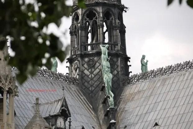 Viollet le Duc Notre Dame spire