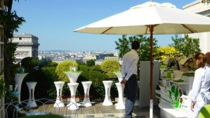 Raphael Hotel rooftop terrace bar