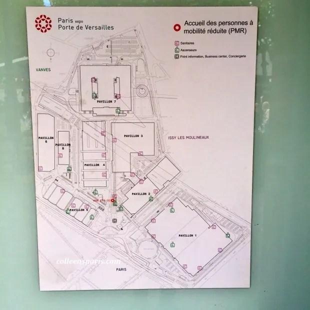 Foire Paris 2015 accessible map