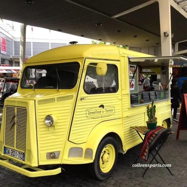 Foire Paris 2015 foodtrucks