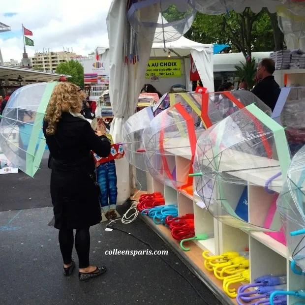 Foire Paris 2015 umbrellas
