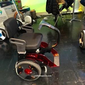 Gyropod wheel chair by Nino Robotics at Foire de Paris in Concours Lépine pavilion