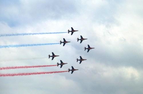 Patrouille de France (Alpha Jet)