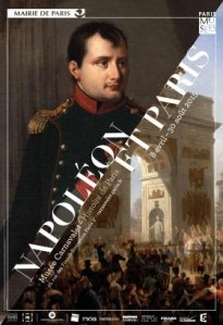 Official poster for Napoléon et Paris, Musée Carnavalet
