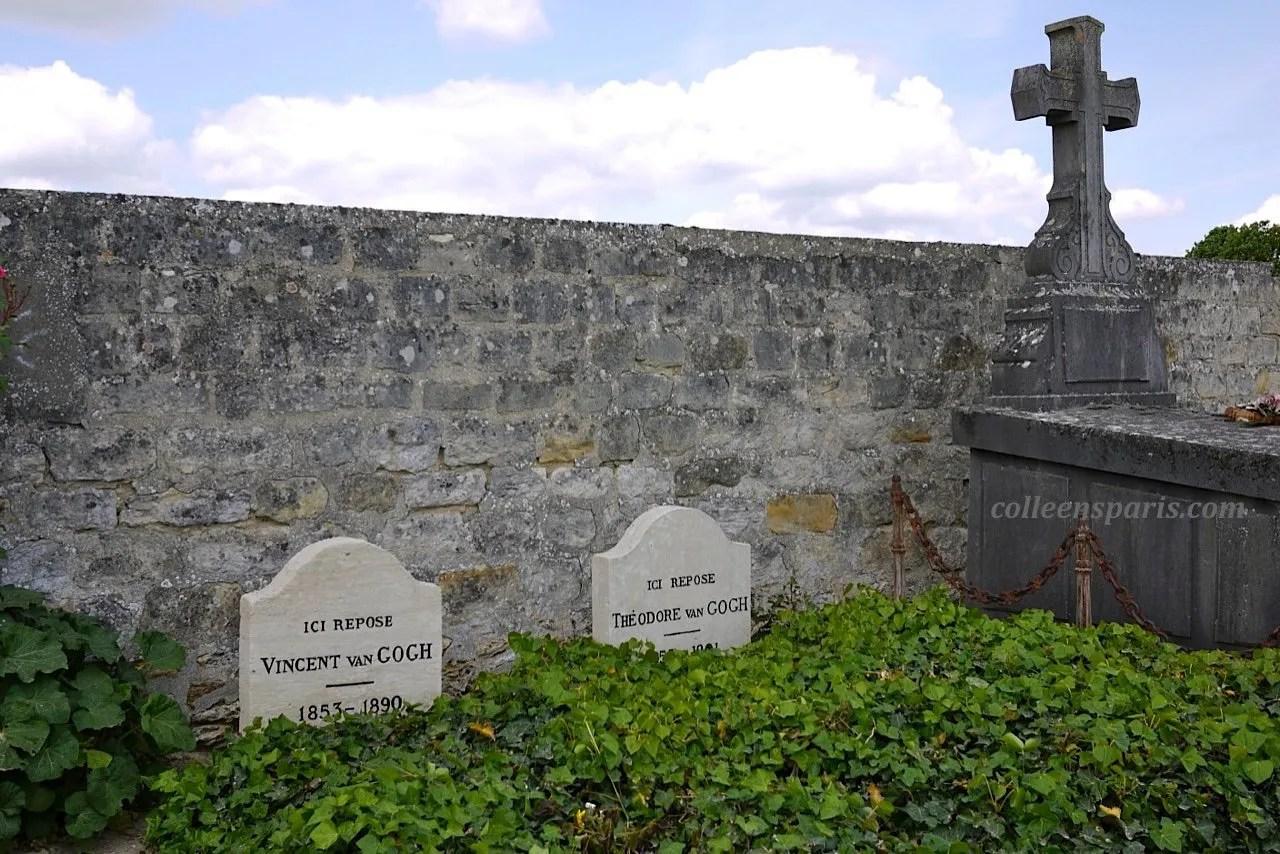 X0040 Auvers Cemetery VanGoghs
