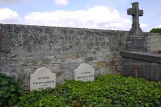 Auvers Cemetery VanGoghs