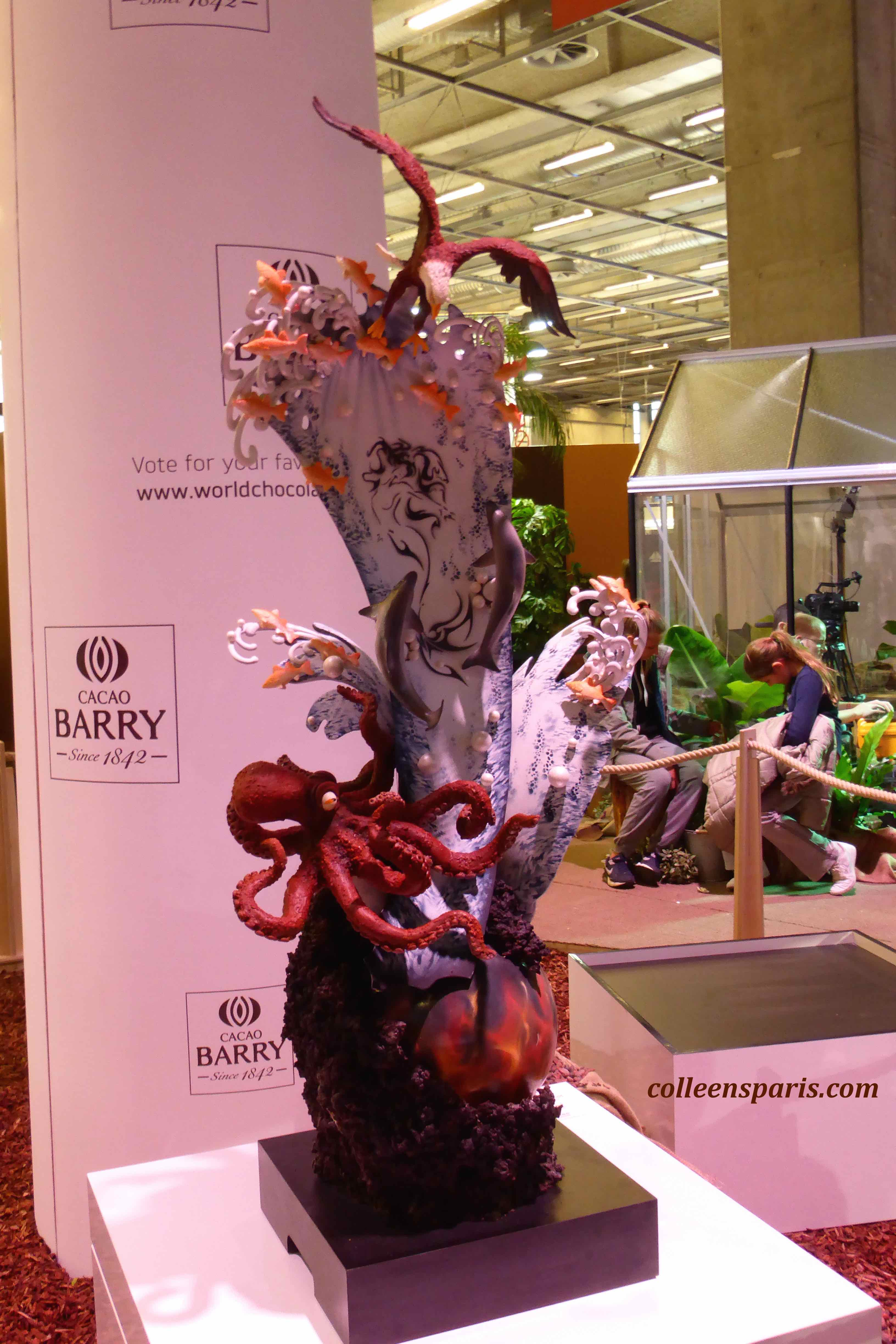 149 Salon Chocolat sculpture 2015