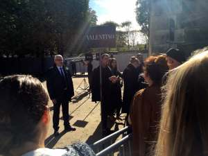 Valentino pre-show invitees, Tuileries Ephémère, Paris