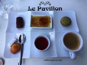 Le Pavillon's version of café gourmand; two thumbs up!