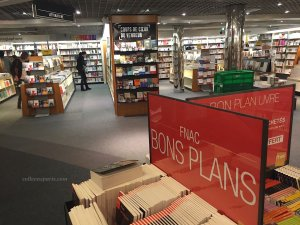 Bons Plans books in literature department of Les Halles FNAC