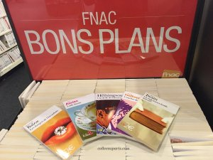 "Assortiment of 2 euro books ""FNAC bons plans"""