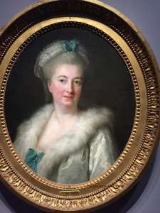Jeanne Maissin, mother of the artist (1774-1778) Duchess of Chartres ordered the portrait. Hairdresser by trade, married Louis Vigée (d. 1767) Parisian painter.