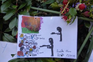 Bataclan. Amélie 11 years old's version of the November 13 Paris attacks.