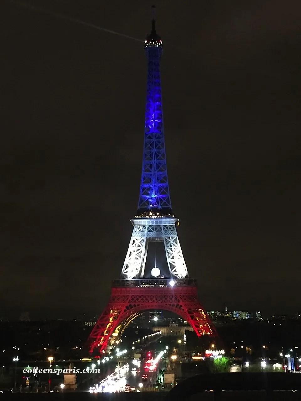 Eiffel Tower redwhiteblue 5925