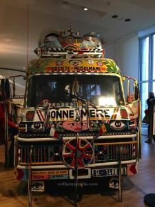 """""""car rapide"""" Bonne Mère located now in the Musée de l'Homme"""