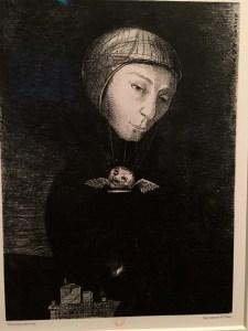 Odilon Redon (1840-1916) Dans le rêve, Fantastique, Petit Palais, Paris